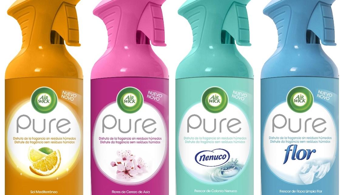 Que es pure ambientador en spray sin agua air wick for Ambientador con suavizante y bicarbonato